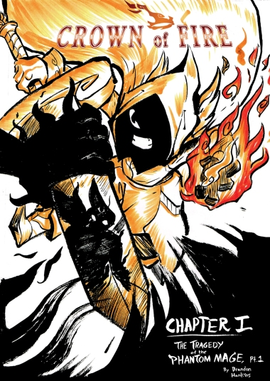 Crown of Fire ch.1 Cover (2016)